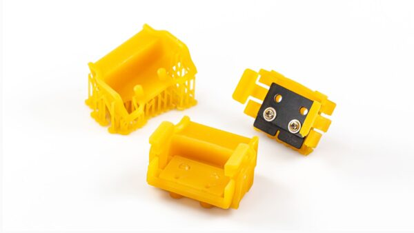 Yellow printing trays