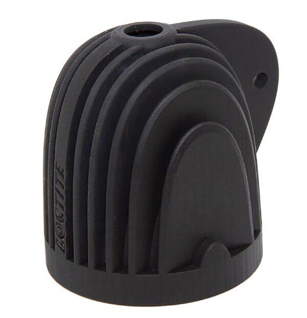 Black 3D printed part