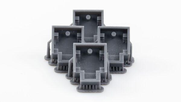 Gray 3D printing trays
