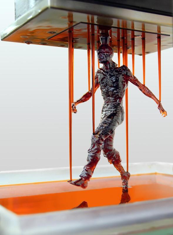 3D printed man